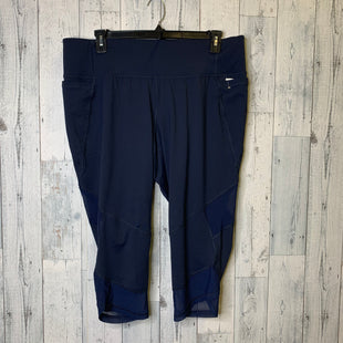 Primary Photo - BRAND: LIVI ACTIVE STYLE: ATHLETIC CAPRIS COLOR: NAVY SIZE: 22/24SKU: 176-176124-26193