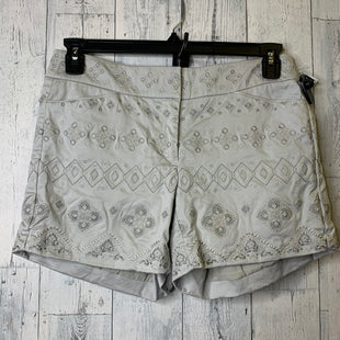 Primary Photo - BRAND: WHITE HOUSE BLACK MARKET STYLE: SHORTS COLOR: SILVER SIZE: 4 SKU: 176-176140-2825