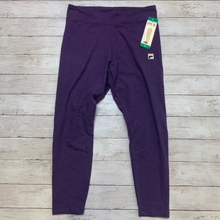 Primary Photo - BRAND: FILA STYLE: ATHLETIC PANTS COLOR: PURPLE SIZE: XL SKU: 176-176124-18813