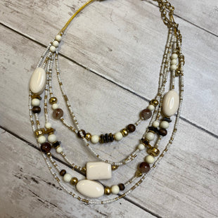 Primary Photo - BRAND: CHICOS STYLE: NECKLACE COLOR: OFF WHITE SKU: 176-176150-2260