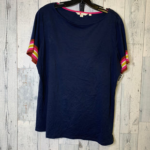 Primary Photo - BRAND: BODEN STYLE: TOP SHORT SLEEVE COLOR: NAVY SIZE: L SKU: 176-176140-955