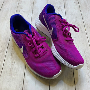 Primary Photo - BRAND: NIKE STYLE: SHOES ATHLETIC COLOR: PURPLE SIZE: 9.5 OTHER INFO: AS IS SKU: 176-176134-1683