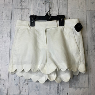Primary Photo - BRAND: J CREW STYLE: SHORTS COLOR: WHITE SIZE: 0 OTHER INFO: 00 SKU: 176-176114-36517