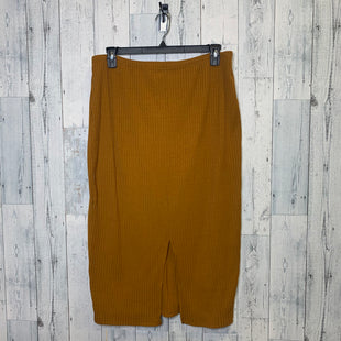 Primary Photo - BRAND: SHEIN STYLE: SKIRT COLOR: BROWN SIZE: 3X SKU: 176-176121-24383