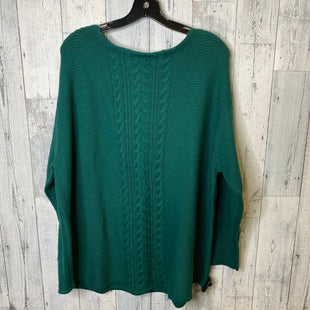 Primary Photo - BRAND: CHAPS STYLE: SWEATER LIGHTWEIGHT COLOR: GREEN SIZE: 2X SKU: 176-176146-232