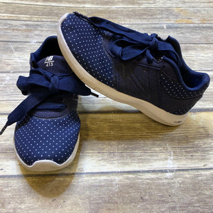 Primary Photo - BRAND: NEW BALANCE STYLE: SHOES ATHLETIC COLOR: NAVY SIZE: 6 SKU: 176-176121-18216