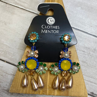 Primary Photo - BRAND: J CREW STYLE: EARRINGS COLOR: BLUE GREEN SKU: 176-176150-4515