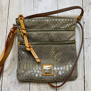 Primary Photo - BRAND: DOONEY AND BOURKE STYLE: HANDBAG DESIGNER COLOR: BROWN SIZE: SMALL OTHER INFO: AS IS SKU: 176-176124-23186