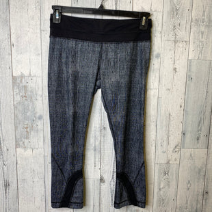 Primary Photo - BRAND: LULULEMON STYLE: ATHLETIC CAPRIS COLOR: GREY SIZE: 6 SKU: 176-176121-25817