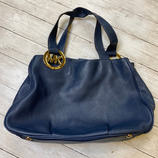 Primary Photo - BRAND: MICHAEL KORS STYLE: HANDBAG DESIGNER COLOR: NAVY SIZE: LARGE OTHER INFO: AS IS SKU: 176-176121-25319