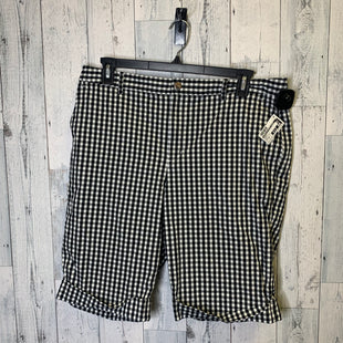 Primary Photo - BRAND: LAUREN BY RALPH LAUREN STYLE: SHORTS COLOR: BLACK WHITE SIZE: 16 SKU: 176-176150-3371