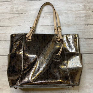 Primary Photo - BRAND: MICHAEL KORS STYLE: HANDBAG DESIGNER COLOR: SILVER SIZE: LARGE OTHER INFO: AS IS SKU: 176-176121-24639