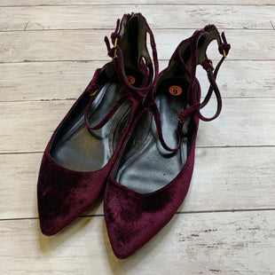 Primary Photo - BRAND: BANANA REPUBLIC STYLE: SHOES FLATS COLOR: MAROON SIZE: 9 SKU: 176-176114-32642