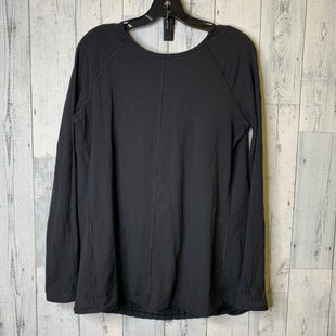 Primary Photo - BRAND: LULULEMON STYLE: ATHLETIC TOP COLOR: BLACK SIZE: L OTHER: SIZE TAG CUT OUTSKU: 176-176121-25118