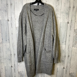 Primary Photo - BRAND: ELOQUII STYLE: SWEATER CARDIGAN LIGHTWEIGHT COLOR: GREY SIZE: 3X SKU: 176-176150-1779