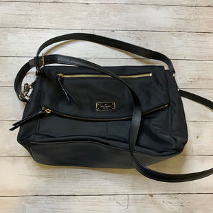 Primary Photo - BRAND: KATE SPADE STYLE: HANDBAG DESIGNER COLOR: BLACK SIZE: MEDIUM SKU: 176-176122-20612