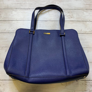 Primary Photo - BRAND: KATE SPADE STYLE: HANDBAG DESIGNER COLOR: BLUE SIZE: LARGE SKU: 176-176150-4572
