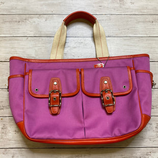Primary Photo - BRAND: COACH STYLE: HANDBAG DESIGNER COLOR: PINK SIZE: MEDIUM SKU: 176-17641-39123