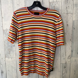 Primary Photo - BRAND: LUMIERE STYLE: TOP SHORT SLEEVE COLOR: STRIPED SIZE: L SKU: 176-176121-25150