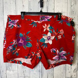 Primary Photo - BRAND: OLD NAVY STYLE: SHORTS COLOR: RED SIZE: 20 SKU: 176-176134-3507