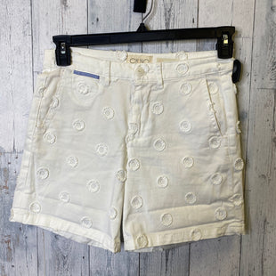 Primary Photo - BRAND: ANTHROPOLOGIE STYLE: SHORTS COLOR: WHITE SIZE: 2 OTHER INFO: 26\ SKU: 176-17684-47610