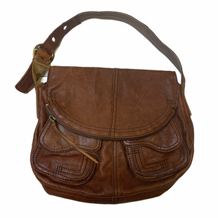 Primary Photo - BRAND: LUCKY BRAND STYLE: HANDBAG LEATHER COLOR: BROWN SIZE: MEDIUM SKU: 176-176140-3247