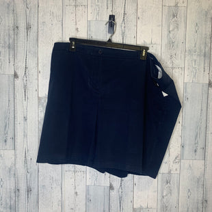 Primary Photo - BRAND: TALBOTS STYLE: SHORTS COLOR: NAVY SIZE: 24 SKU: 176-176114-30741