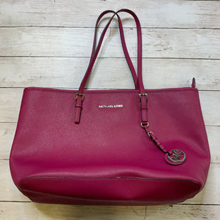Primary Photo - BRAND: MICHAEL KORS STYLE: HANDBAG DESIGNER COLOR: PINK SIZE: MEDIUMOTHER INFO: AS IS SKU: 176-176124-23088