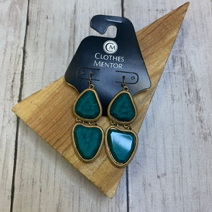 Primary Photo - BRAND:    CLOTHES MENTOR STYLE: EARRINGS COLOR: TEAL SKU: 176-17684-47362