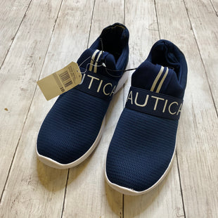Primary Photo - BRAND: NAUTICA STYLE: SHOES ATHLETIC COLOR: NAVY SIZE: 10 SKU: 176-176140-3183