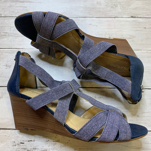 Primary Photo - BRAND: NURTURE STYLE: SANDALS LOW COLOR: DENIM SIZE: 10 SKU: 176-17684-48036