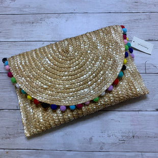 Primary Photo - BRAND: FRANCESCA'S STYLE: CLUTCH COLOR: STRAW SKU: 176-176124-18971