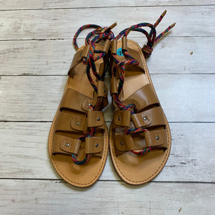 Primary Photo - BRAND: INDIGO RD STYLE: SANDALS FLAT COLOR: CREAM SIZE: 7.5 SKU: 176-17684-44335