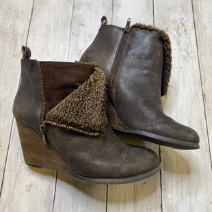 Primary Photo - BRAND: LUCKY BRAND STYLE: BOOTS ANKLE COLOR: BROWN SIZE: 7.5 SKU: 176-176121-24499