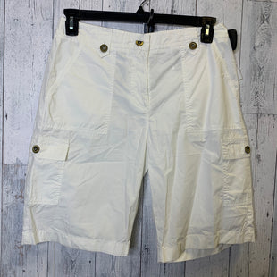 Primary Photo - BRAND: MICHAEL BY MICHAEL KORS STYLE: SHORTS COLOR: WHITE SIZE: 6 SKU: 176-176124-18984