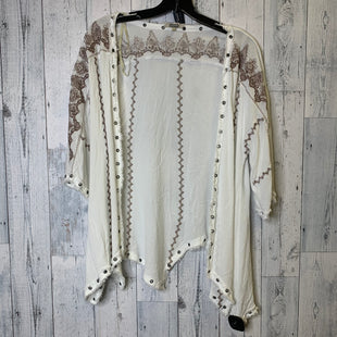 Primary Photo - BRAND: GIMMICKSSTYLE: SWEATER CARDIGAN LIGHTWEIGHT COLOR: CREAM SIZE: L SKU: 176-176140-1063