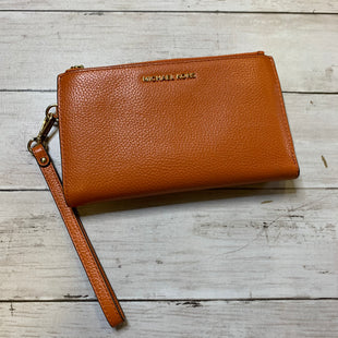 Primary Photo - BRAND: MICHAEL KORS STYLE: WALLET COLOR: ORANGE SIZE: LARGE SKU: 176-176140-1881