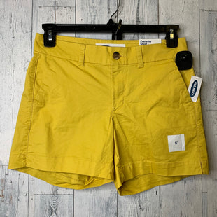 Primary Photo - BRAND: OLD NAVY STYLE: SHORTS COLOR: YELLOW SIZE: 2 SKU: 176-176124-23349