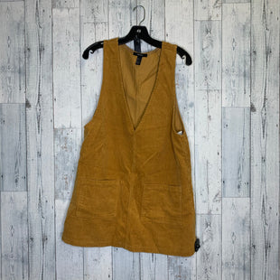 Primary Photo - BRAND: FOREVER 21 STYLE: DRESS SHORT SLEEVELESS COLOR: MUSTARD SIZE: L SKU: 176-176150-1512