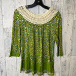 Primary Photo - BRAND: MEADOW RUE <BR>STYLE: TOP LONG SLEEVE <BR>COLOR: GREEN <BR>SIZE: M <BR>SKU: 176-176122-18356