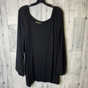 Primary Photo - BRAND: LOFT STYLE: TOP LONG SLEEVE COLOR: BLACK SIZE: 3X SKU: 176-176122-20859