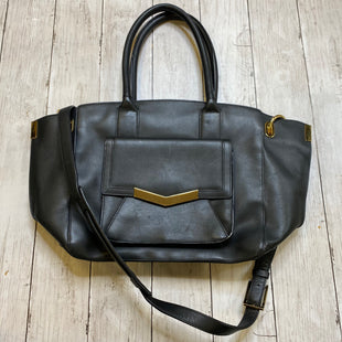 Primary Photo - BRAND:    CLOTHES MENTOR STYLE: HANDBAG LEATHER COLOR: BLACK SIZE: MEDIUM OTHER INFO: TIMES ARROW - SKU: 176-176150-3633