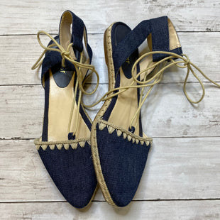 Primary Photo - BRAND: NINE WEST SHOES STYLE: SHOES FLATS COLOR: DENIM SIZE: 8 SKU: 176-176150-2998