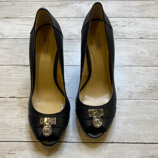 Primary Photo - BRAND: MICHAEL BY MICHAEL KORS STYLE: SHOES DESIGNER COLOR: BLACK SIZE: 8 SKU: 176-176150-2361