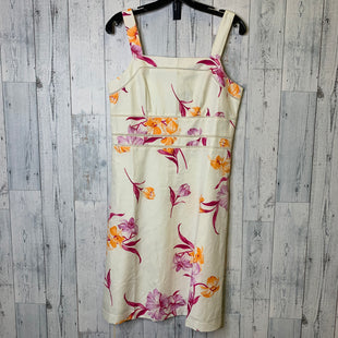 Primary Photo - BRAND: ANN TAYLOR STYLE: DRESS SHORT SLEEVELESS COLOR: CREAM SIZE: S SKU: 176-176124-25615
