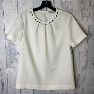 Primary Photo - BRAND: KATE SPADE STYLE: TOP SHORT SLEEVE COLOR: WHITE SIZE: S OTHER INFO: KATE SPADE- 4 SKU: 176-176146-637