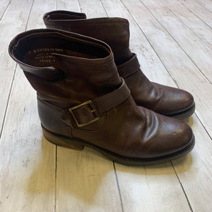 Primary Photo - BRAND: FRYE STYLE: BOOTS DESIGNER COLOR: BROWN SIZE: 6 SKU: 176-176124-21357
