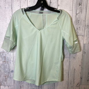 Primary Photo - BRAND: LULULEMON STYLE: ATHLETIC TOP SHORT SLEEVE COLOR: MINT SIZE: S SKU: 176-17684-45301