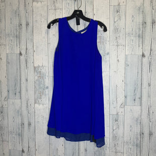 Primary Photo - BRAND: EVERLY STYLE: DRESS SHORT SLEEVELESS COLOR: BLUE SIZE: S SKU: 176-176124-21099