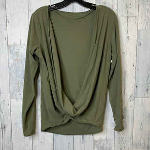 Primary Photo - BRAND: LULULEMON STYLE: ATHLETIC TOP COLOR: GREEN SIZE: M OTHER: SIZE CUT OUT SKU: 176-176124-24690